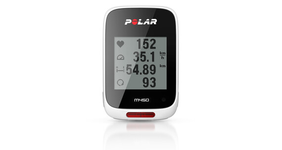 Polar M450 GPS Nawigacja GPS biały